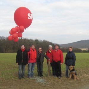 v.l.n.r.: Stephan Brähler, Wolfhard Hartmann, Thilo Kister, Hubert Wittner, Michael Busold, Regine Geist