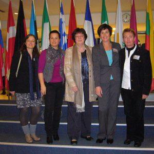 von links nach rechts: Sonja Breithecker-Hartung, Katja Kerwel, Barbara Weiler, Birgit Kömpel, Regine Geist.