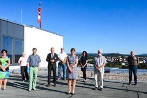 Besuch der SDP im Klinikum Fulda im Juli 2020