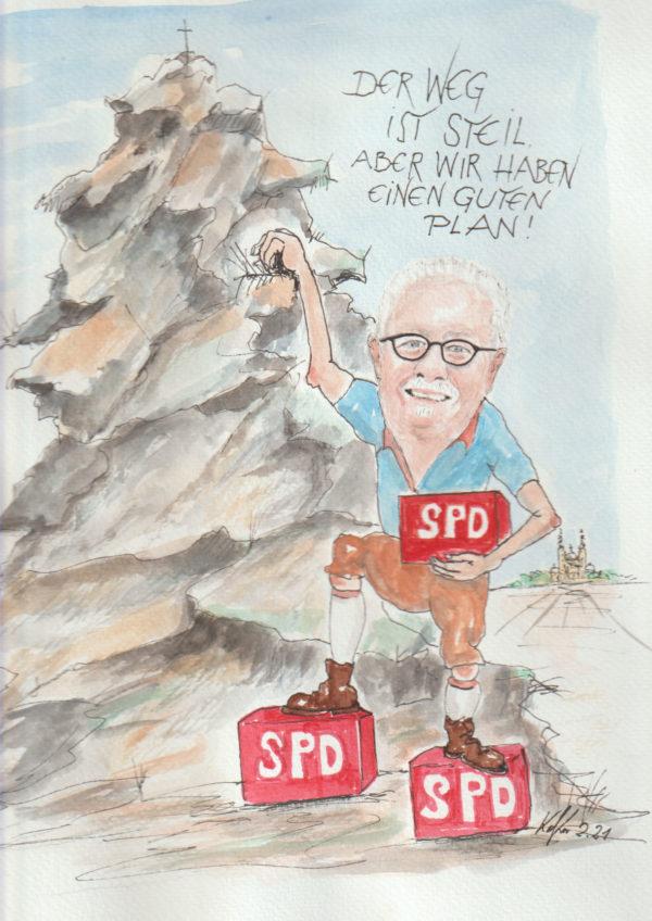 Karikatur SPD Fulda