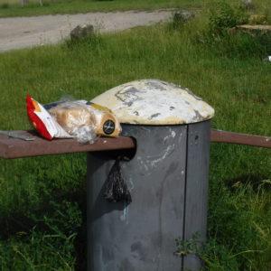 Müllproblem in der Stadt Fulda
